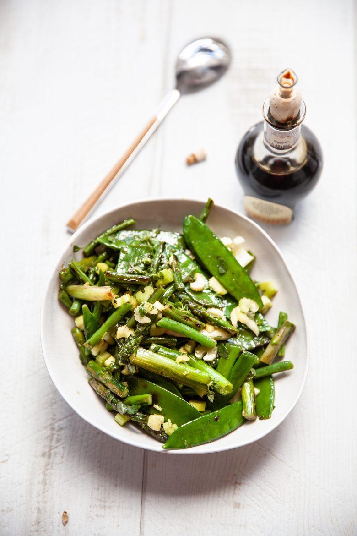 recette de légumes verts sautés à l'italienne