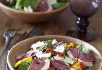 salade magrets de canard, recette facile et rapide pour 4 personnes