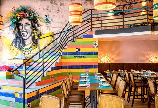 Uma Nota le restaurant nippo-bréislien de street food, cocktails et musique