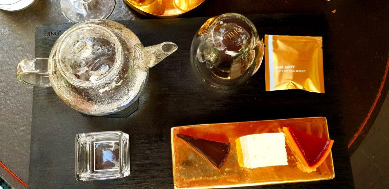 The gourmand au restaurant de l'hôtel Le Roch avec les pâtisseries de Hugo & Victor