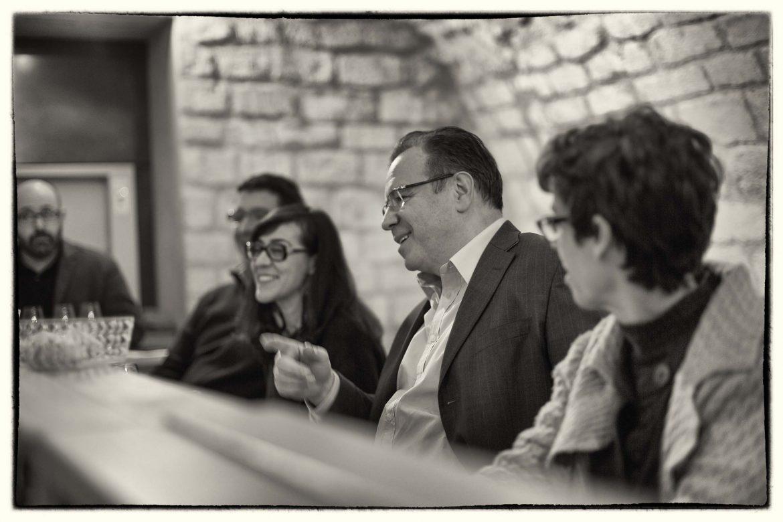Thierry Desseauve pendant un des jury de dégustation Monoprix
