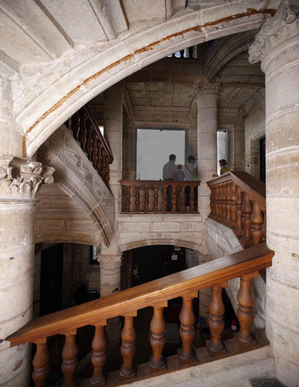 escalier Renaissance dans Périgueux