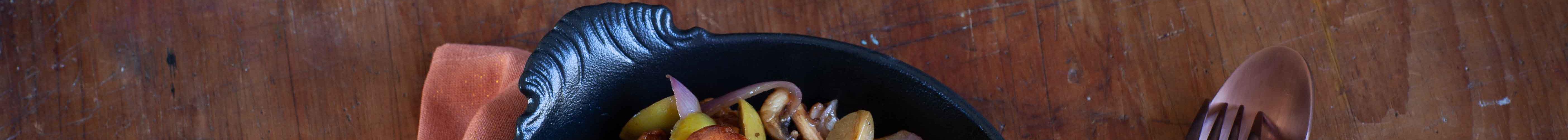 chapingons sautés aux olives manzanilla d'Espagne