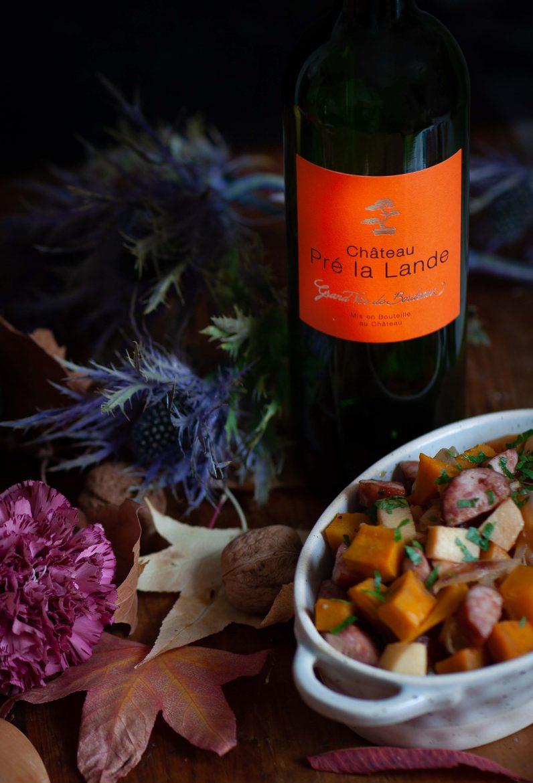 Cuvée Diane, vin du Château la Lande, vin rouge en biodynamie de Bordeaux