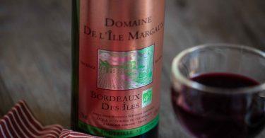 Vin rouge de Bordeaux du Domaine de l'Îles Margaux, Bordeaux