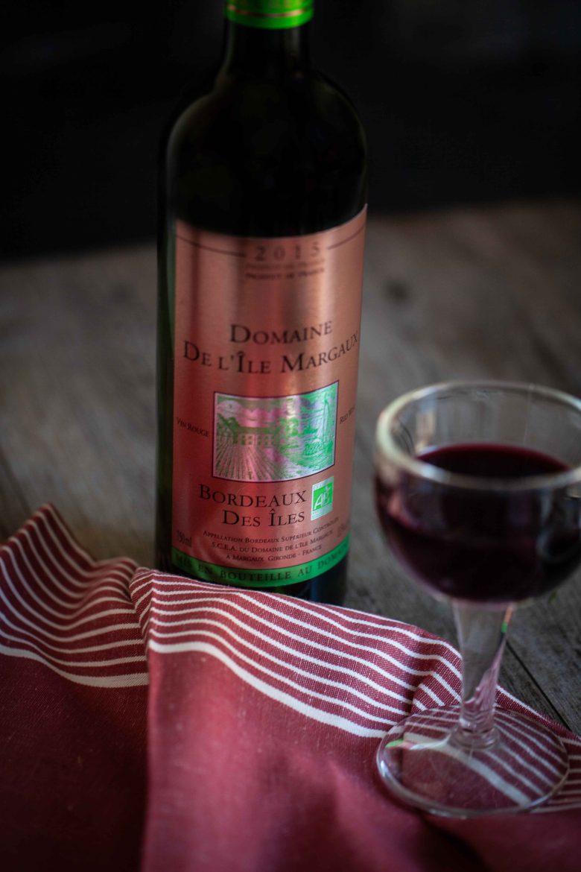 Vin rouge Domaine de l'Îles Margaux, Bordeaux