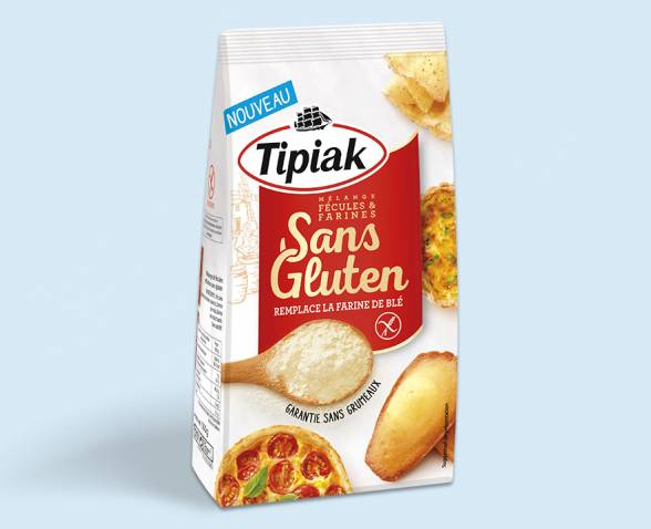 La farine sans gluten de tipiak