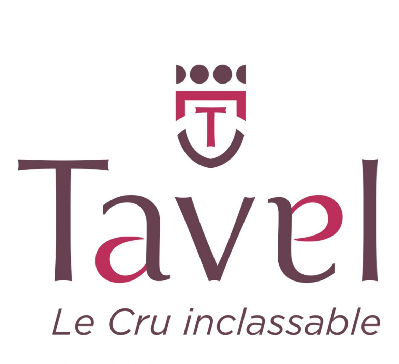 le nouveau logo de l'AOC du vin rosé Tavel