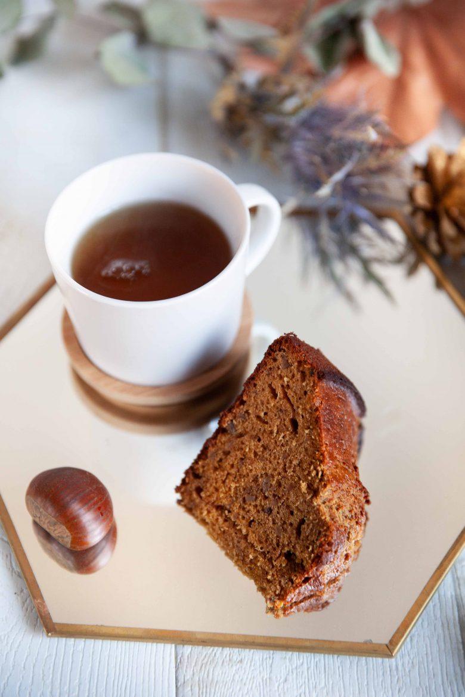 La recette du gâteau moelleux aux châtaignes