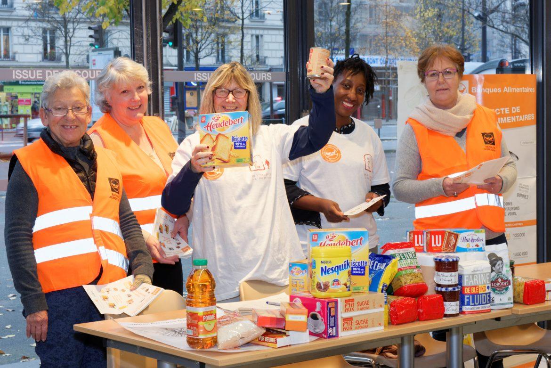 Collecte de la Banque Alimentaire au Monoprix du 13eme arrondissement de Paris