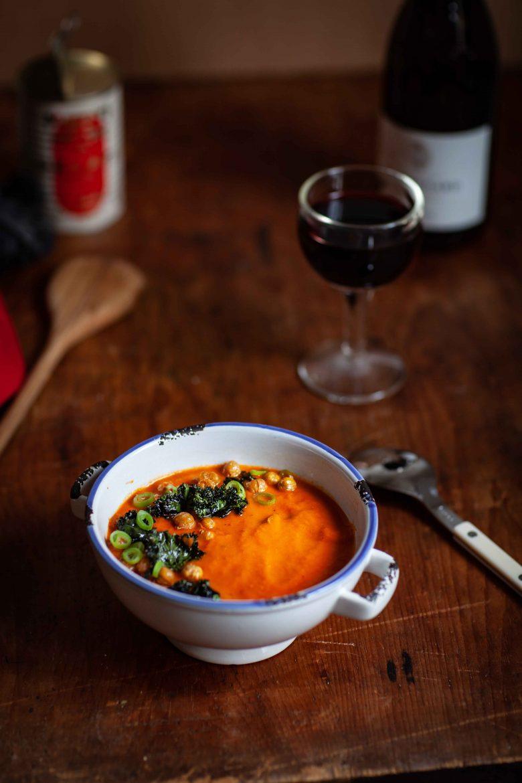 la recette de soupe de tomates traditionnelle