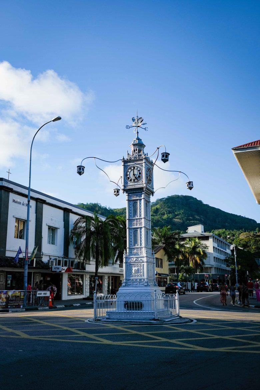 Clock Tower à Victoria, Mahé, Seychelles