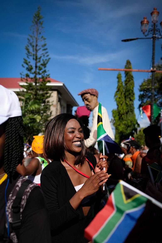 l'afrique du Sud au Festival Kreol à Victoria Mahé Seychelles