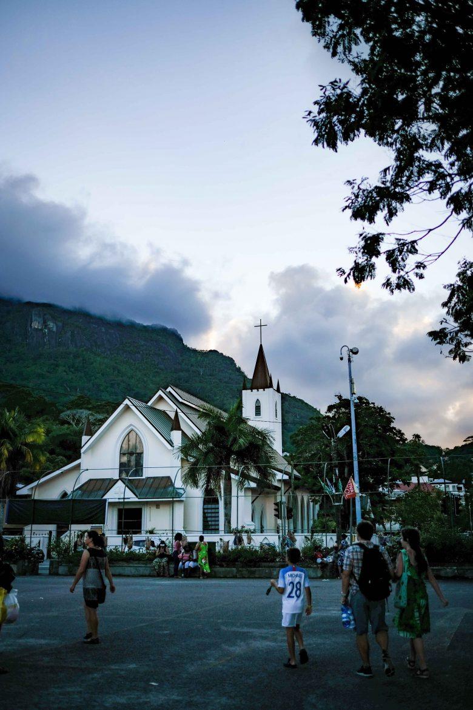 Eglise cathédrale anglicane de Victoria à Mahé aux Seychelles