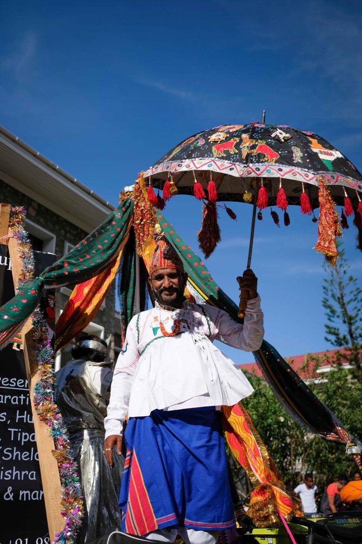 Les Sri Lankais à la parade du Festival Kreol à Victoria Mahé Seychelles