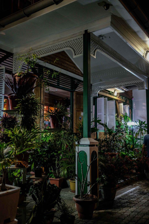 Entrée du restaurant Marie-Antoinette à Victoria aux Seychelles