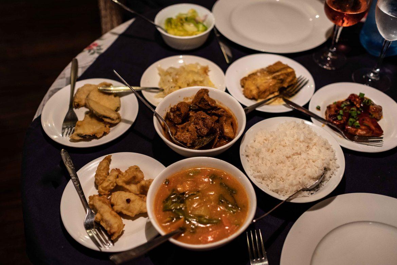 Les 9 plats du menu fix du Marie-Antoinette, restaurant de Victoria Mahé Seychelles