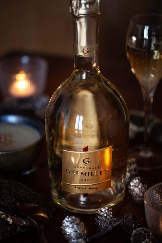 La cuvée Evidence du champagne brut Grémillet