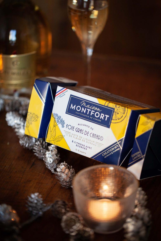 Foie gras Montfort édition spécial fêtes au sureau et au citron