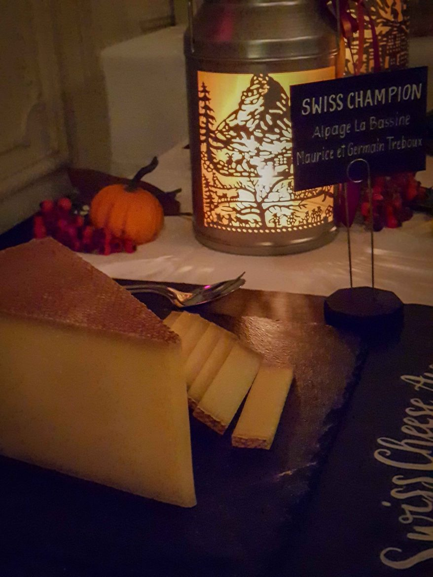le gruyère champion des Swiss Cheese Awards 2018