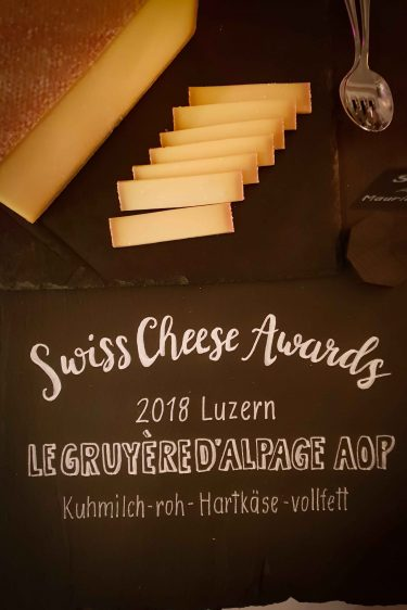 Le gruyère AOP de Maurice Treboux, champion des Swiss Cheese Awards 2018