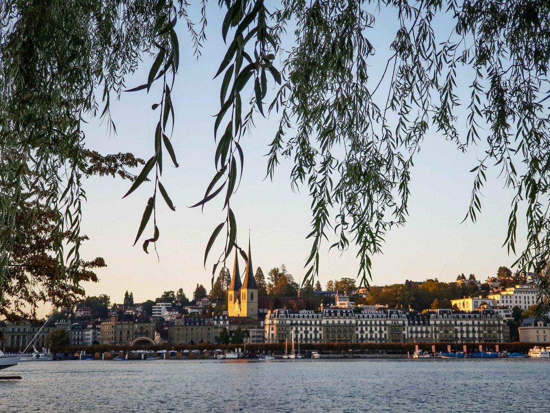 Swiss Cheese Awards 2018 la ville de Lucerne au bord du Lac des quatre Cantons