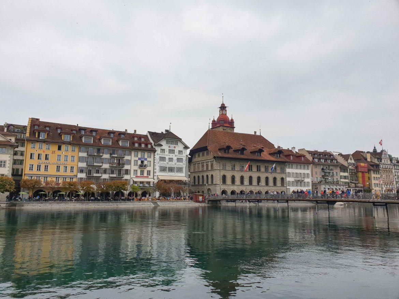 Passerelle Rathaussteg à Lucerne
