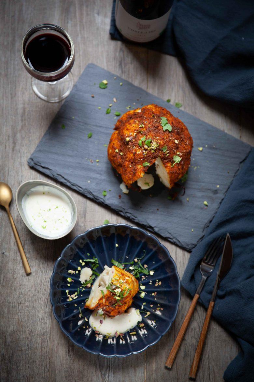 Ma recette de chou-fleur rôti aux épices douces indienne et Domaine Coste-Lise 2016