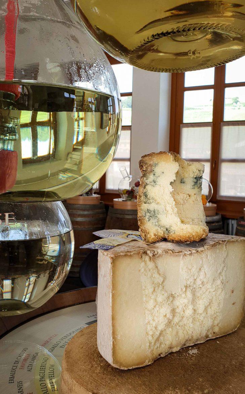 Fromages italiens de Castelmagno Dop