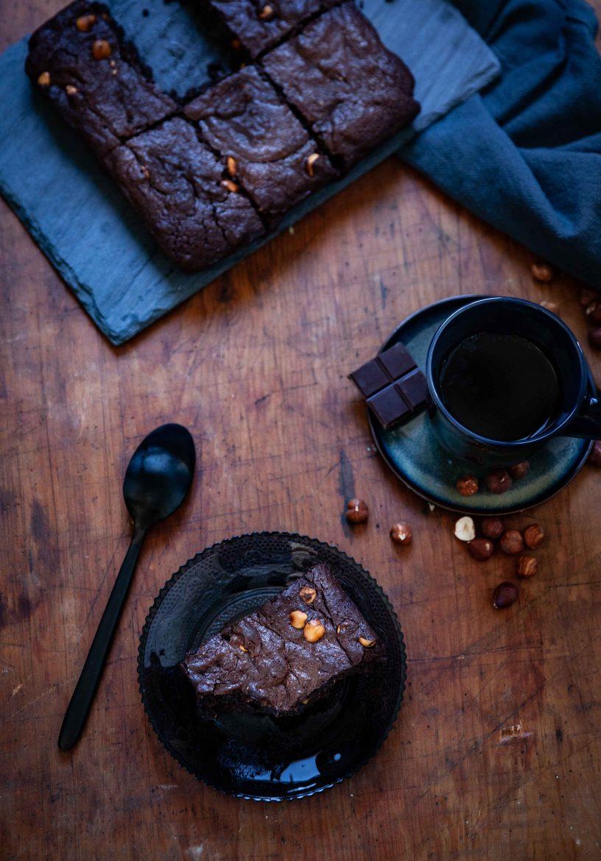 Fondant moelleux au chocolat et aux noisettes, la recette sans farine