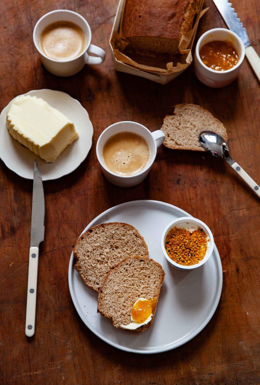Recette de pain à l'épeautre ou grand épeautre non hybridé Oberkülmer, cuit en caissette