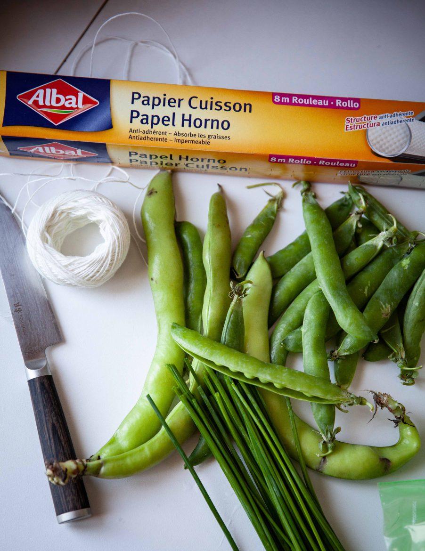 Le papier cuisson en feuilles d'Albal