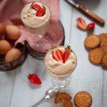 Recette de mousse de fraise au sucre de fleur de coco