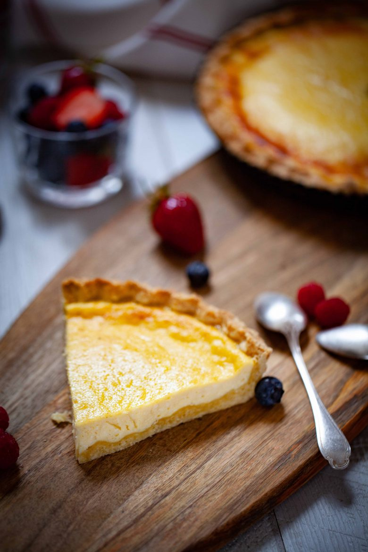 trate au fromage blanc de brebis de corse, le fiadone