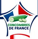 le logo de concombre de France