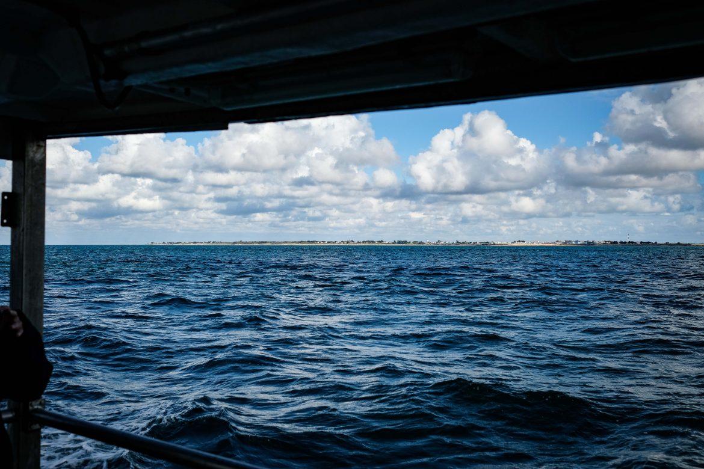 Les côtes de Noirmoutier vues de bateau