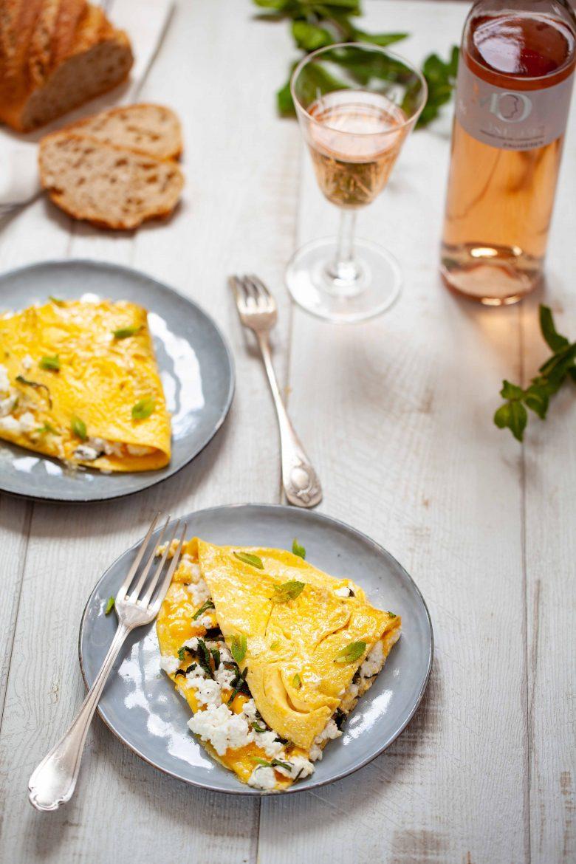 Ma recette d'omelette au brocciu corse