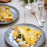la recette traditionnelle de l'omelette au brocciu