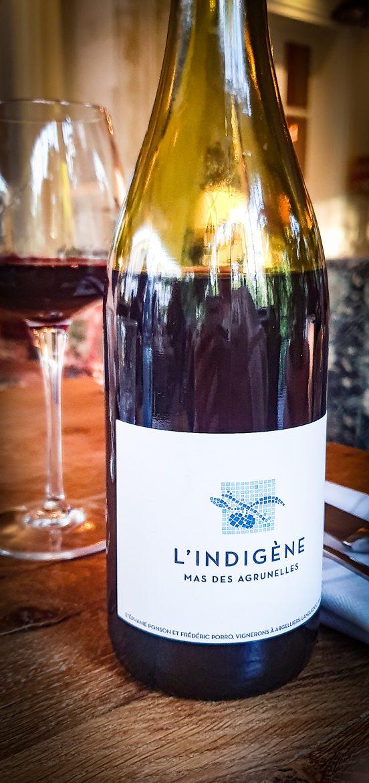 Vin du Mas des Agrunelles, L'Indigène