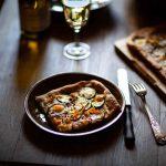 Ma recette de pizza blanche aux courgettes et zaatar