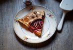 Recette de tarte rustique aux pêches