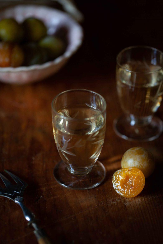Verre de Château de Monbazillac, vin liquoreux