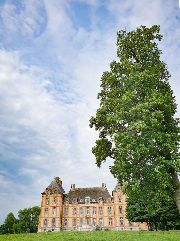 Le château du Domaine de Merval sur la Route des Fromages de Normandie