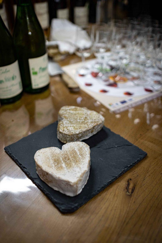 Dégustation de Calvados et fromages de Neufchâtel de 3 mois et 12 mois au Domaine de Merval sur la Route des Fromages de Normandie