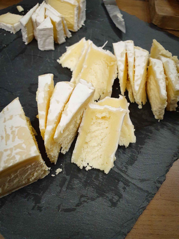 Coeur frais de fromage Neufchâtel