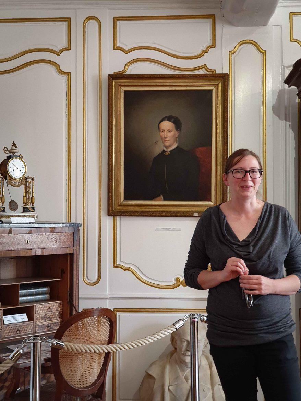 Visite guidée par la directrice du Musée de Neufchâtel sur la Route des Fromages de Normandie