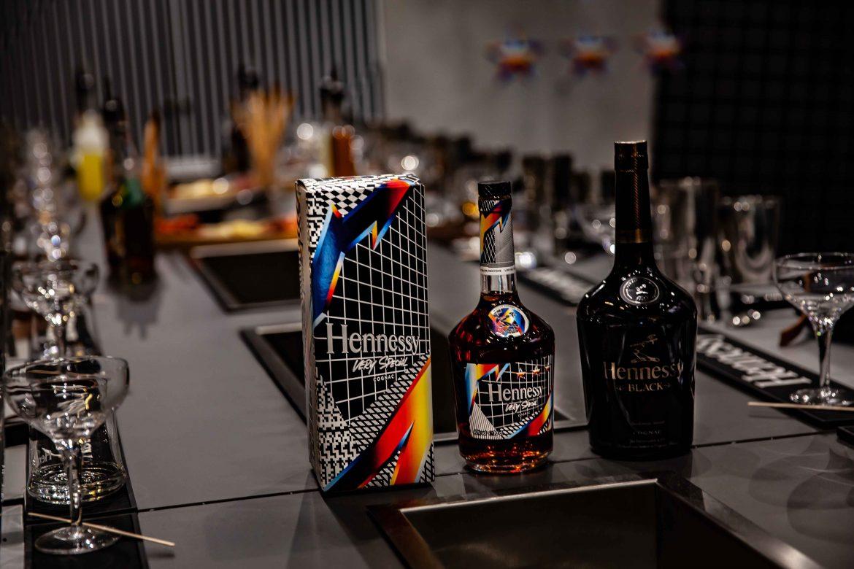 Cognac VSOP Pantone Hennessy et Cognac Black pour le marché américain