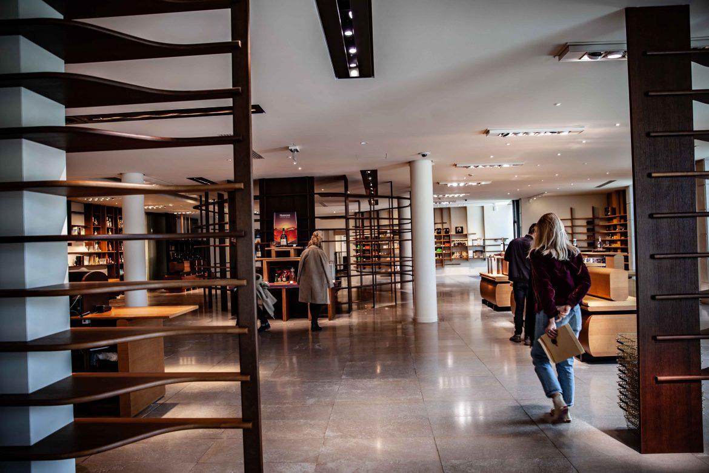 La boutique Hennessy à Cognac
