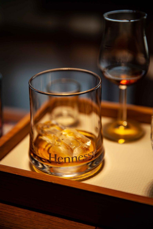 Cognac VSOP Hennessy sur glace