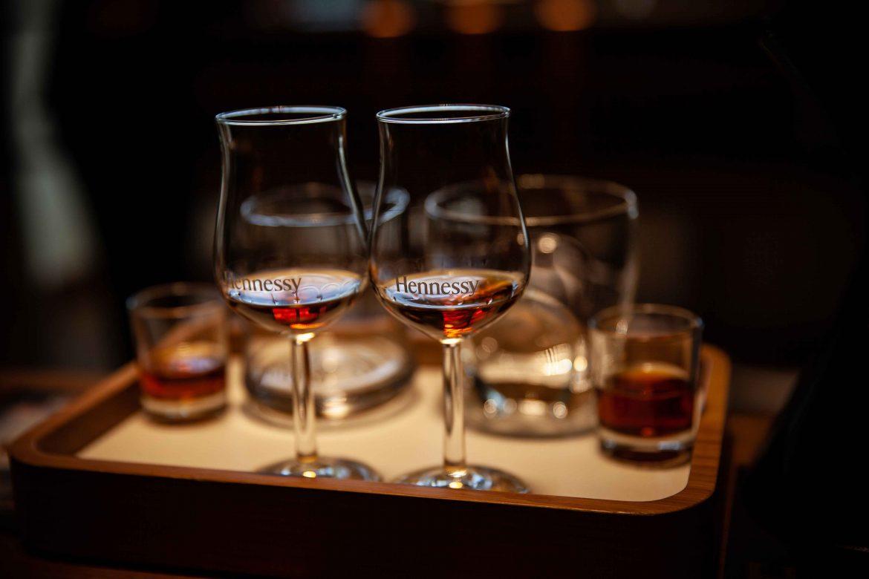 Dégustation de cognacs VSOP et XO Hennessy